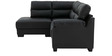 Three Seater RHS Sectional Sofa in Dark Grey Colour by Afydecor