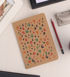 Thinkpot Brown Idea Kraft Notebook