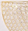 Paquita Wall Light in Gold by CasaCraft