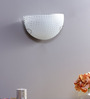 Marcela Wall Light in White by CasaCraft