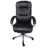 (Free Kid Chair)The Cascada High Back In Black Colour in Black Color By VJ Interior