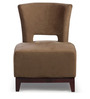 The Clinton Chair in Coffee Colour by HomeHQ