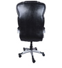 (Free Kid Chair)The Corona High Back In Black in Black Color By VJ Interior