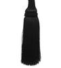 The Decor Mart Black Polyester Tassel - Set of 2