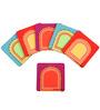 The Elephant Company MDF Coasters Jharokha New - Set of 6