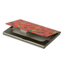 The Elephant Company Tropical Birds &Amp; Feathers Steel Red Card Holder