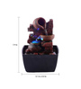 The Exclusive Deco Brown Resin Pretty Matki Electric Operated Indoor Fountain