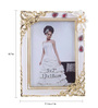 The Exclusive Deco Multicolour Plastic 7.1 x 1 x 8.7 Inch Sightly Photo Frame