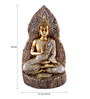 The Exclusive Deco Multicolour Polystone Buddha - RD0474