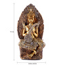 The Exclusive Deco Multicolour Polystone Buddha - RD0477