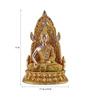 The Exclusive Deco Multicolour Polystone Buddha - RD0520