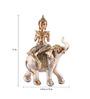 The Exclusive Deco Multicolour Polystone Buddha - RD0553