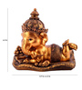 The Exclusive Deco Multicolour Polystone Ganesh - RD0455