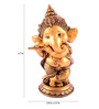 The Exclusive Deco Multicolour Polystone Ganesh - RD0459