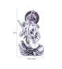 The Exclusive Deco Multicolour Polystone Musical Ganesh - RD0536