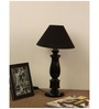 The Lamp Store Black Poly Cotton Table Lamp