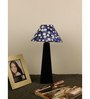 The Lamp Store Blue Poly Cotton Lamp Shade