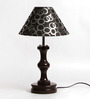 The Light House blk circle Table Lamp