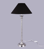 The Light Store Black Cotton Table Lamp
