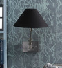 The Light Store Black Metal Wall Light