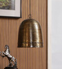 The Light Store Copper Metal Pendant Lamp