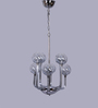 The Light Store Silver Metal & Glass Pendant