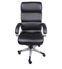 (Free Kid Chair)The Medida High Back In Black Colour in Black Color By VJ Interior