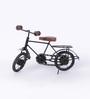 Patrick Jodhpuri Antique Bicycle in Brown & Black by Amberville