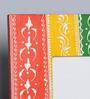 The Mikky Shoppe Station Multicolour MDF 8 x 2 x 10 Inch Handpainted Jodhpuri Photo Frame