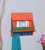 The Mikky Shoppe Station Multicolour MDF Handpainted Jodhpuri Key Holder
