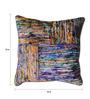 The Rug Republic Multicolour Silk 18 x 18 Inch Silk Lane Cushion Cover with Insert