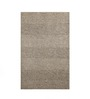 The Rug Republic Brown Woollen Solid Hand Woven Area Rug
