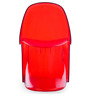 The S Replica Chair in Red Finish by HomeHQ