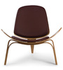 The Sweetzer Chair in Brown Colour by HomeHQ
