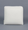 The White Willow White Memory Foam 12 x 12 Inch Square Decorative Cushion Insert