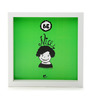 Thinkpot Matte Paper & Acrylic 8 x 8 Inch Be Nice Box Framed Poster
