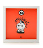 Thinkpot Matte Paper & Acrylic 8 x 8 Inch Be Passionate Box Framed Poster