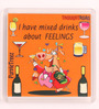 Thoughtroad Multicolour Plastic & Paper I Have Mixed Feelings Fridge Magnet