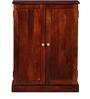 Glendale Solid Wood Shoe Rack in Honey Oak Finish by Woodsworth