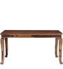 Timpson Six Seater Dining Set in Provincial Teak Finish by Amberville