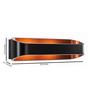 Tisva Black Aluminium & Steel Viltis Wall Light