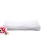 Tomatillo White Cotton Bath Towel