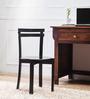 Alma Dining Chair in Espresso Walnut Finish by Woodsworth