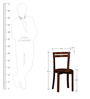 Toston Chair in Honey Oak Finish by Woodsworth