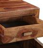 Kalama Shoe Rack in Provincial Teak Finish by Woodsworth