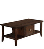 Transitional Style Coffee Table with Crown Moulding and Flexi-storage by AfyDecor