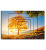 Hashtag Decor Tree on a Hill Slope Engineered Wood 30 x 20 Inch Framed Art Panel
