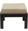 Trendy Coffee Table with Two Stools - Jute by ARRA