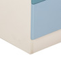 Trendy Space Saving Medium-Sized Book Shelf in Blue Colour by Child Space