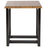Trento End Table in Walnut Finish by Inscape Design